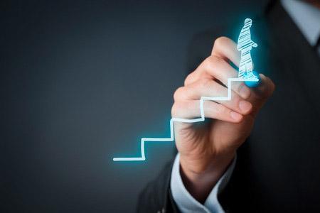 success-and-progress-concept